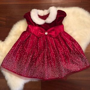 Beautiful 18mo Holiday Dress - lots of sparkle!